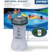 Bomba Filtrante Piscina Intex 3785 L/H 220v + 03 Filtros ( 2 + 1 ) - GIFTCENTER