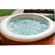 Banheira Piscina Intex Aquecida Pure Spa Jacuzzi Ofurô Hidromassagem 795 Litros 110v #28403 - GIFTCENTER