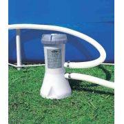 Piscina Intex 6734 Litros + Bomba Filtrante 220v + Capa + Forro + Bomba de Inflar Q1 - GIFTCENTER