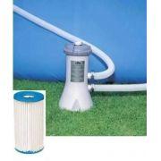 Piscina Intex 7127 Litros + Bomba Filtrante 110v + Capa + Forro + Kit de Limpeza - GIFTCENTER
