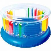 Pula Pula Inflável Colorido JILONG Giant Trampoline Trampolim Cama Elástica - GIFTCENTER