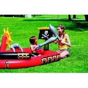 Piscina Inflável Infantil Barco Pirata Bestway Play Center #53041 - GIFTCENTER