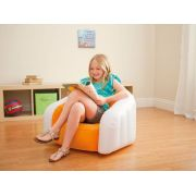 Poltrona Inflável Intex Infantil Sofá Cadeira Laranja #68597 - GIFTCENTER