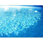 Escada para piscina Intex 91 a 107 cm de altura branca DeLuxe #28072 - GIFTCENTER