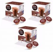 Nescafé Dolce Gusto CHOCOCINO Kit com 03 CAIXAS Total 48 Cápsulas Chocolate - GIFTCENTER