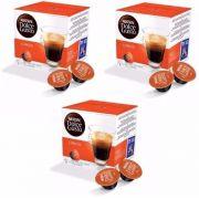 Nescafé Dolce Gusto Café LUNGO Kit com 03 CAIXAS Total 48 Cápsulas - GIFTCENTER