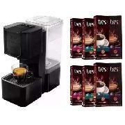 4ac3b03c4 Cafeteira Espresso 3 Corações Pop Preta 127v com 250 Cápsulas - GIFTCENTER