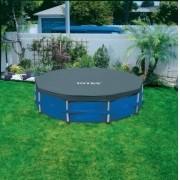Piscina Intex 4485 L com Bomba Filtrante 110v + Capa + Forro + Kit de Limpeza + Escada - GIFTCENTER