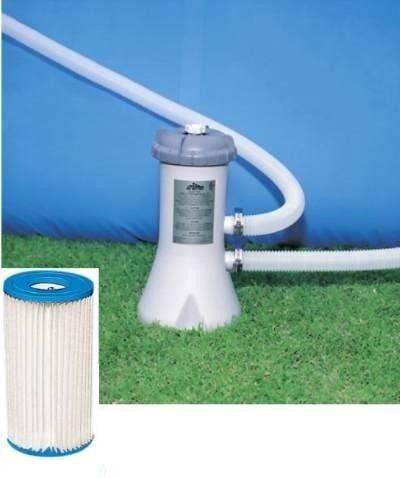 Bomba Filtrante Intex 2006 LH 110v com 3 cartuchos refil filtro (2 + 1) - GIFTCENTER