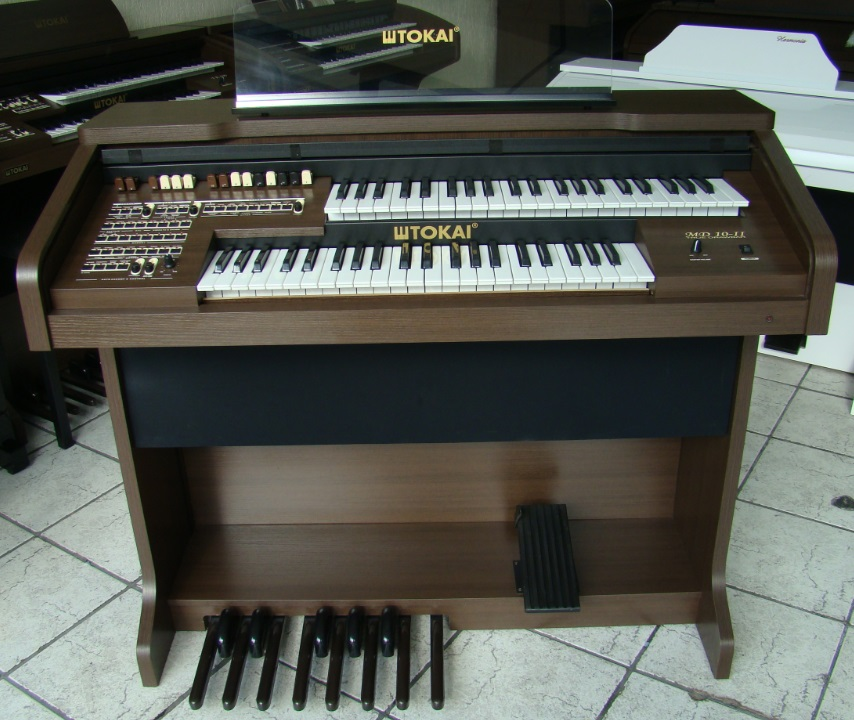 Órgão Eletrônico Tokai MD 10II Wengue