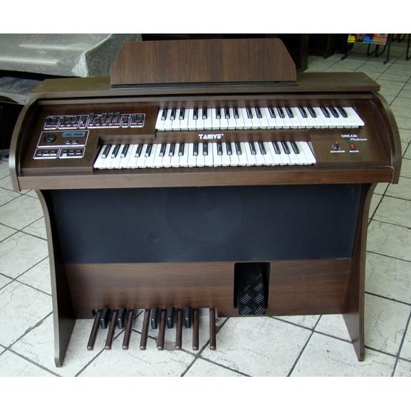 Órgão Eletrônico Tamye Dream Platinum Castanho Escuro.