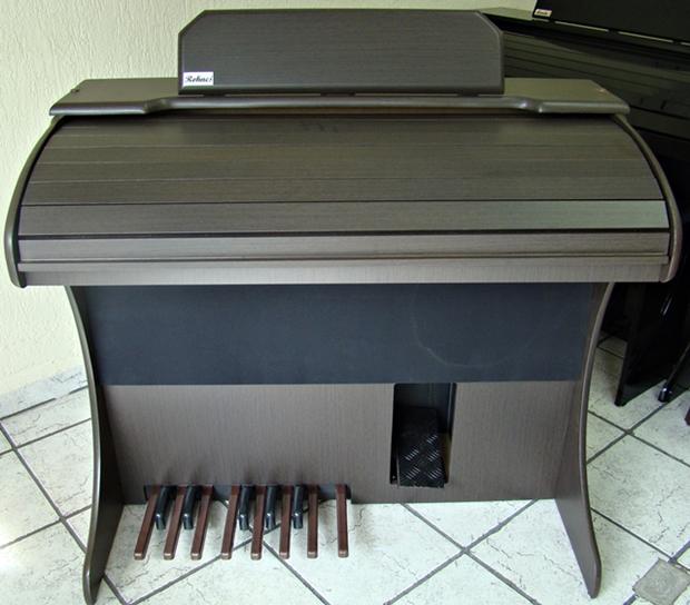 Órgão Eletrônico Rohnes Liz Plus Castanho PVC.