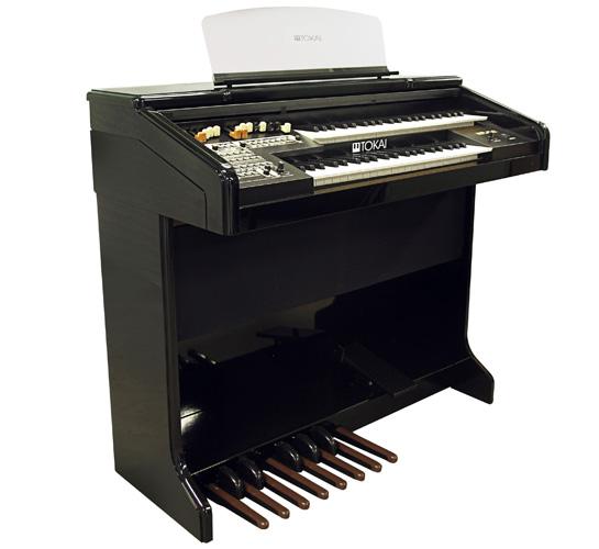 Órgão Eletrônico Tokai MD 10II Preto alto brilho