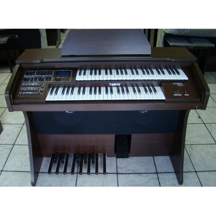 Órgão Eletrônico Tamye Hynnus Platinum Castanho Escuro.
