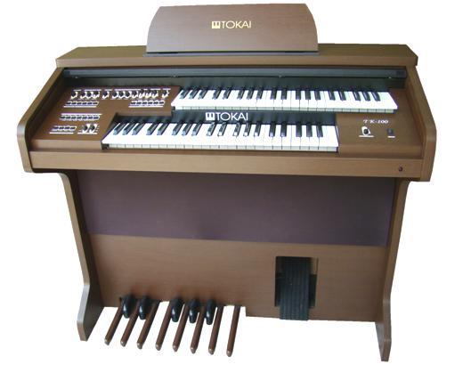 Órgão Eletrônico Tokai TK 100 Wengue