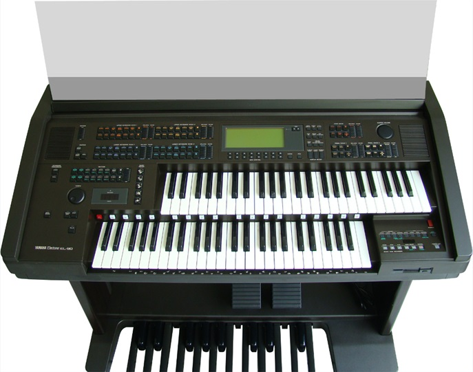 Órgão Eletrônico Yamaha Electone EL 90. Made in Japan!  - Teclasom Instrumentos Musicais Ltda