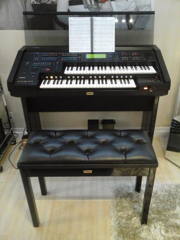Órgão Eletrônico Yamaha Electone EL 900m. Made in Japan!  - Teclasom Instrumentos Musicais Ltda