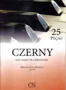 Método Czerny Adaptado para Órgão Eletrônico 25 Peças - Ana Mary Cervantes