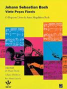 Método J. S. Bach Vinte Peças Fáceis - O Pequeno Livro de Anna Magdalena Bach  - Teclasom Instrumentos Musicais Ltda