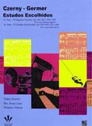 Método Czerny Germer Estudos Escolhidos 1ª e 2ª Parte para Piano - Revisão Souza Lima