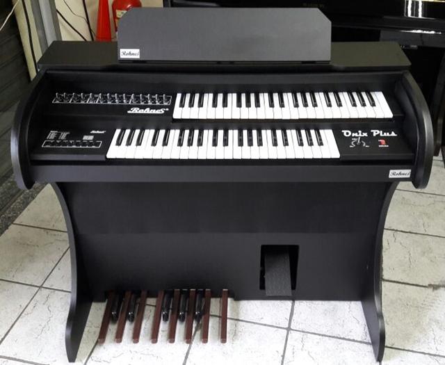 Órgão Eletrônico Rohnes Onix Preto Lançamento!