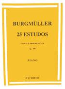 Método F. Burgmuller 25 Estudos Fáceis e Progressivos - Op. 100 Piano
