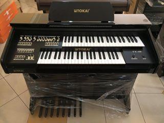 Órgão Eletrônico Tokai TK 100 Preto Alto Brilho