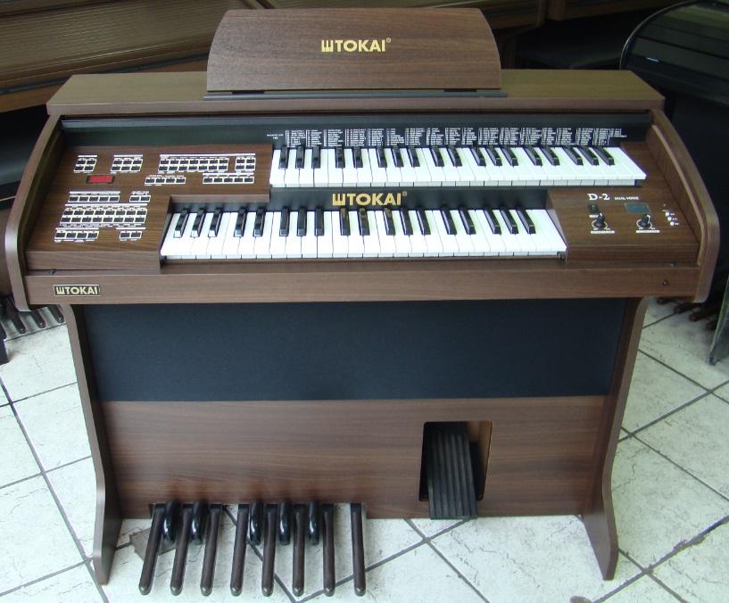 Órgão Eletrônico Tokai D 2 Wengue