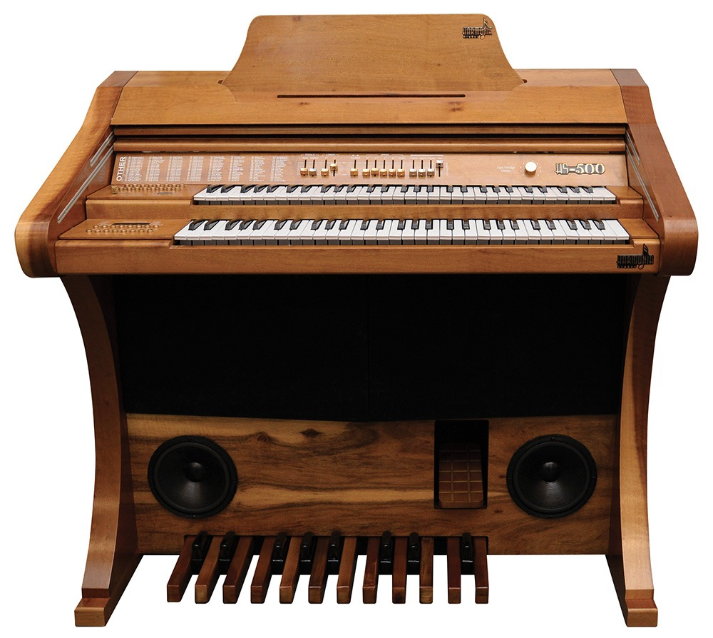 Órgão Eletrônico Harmonia HS 500 Madeirado - Lançamento, Venha Conferir!