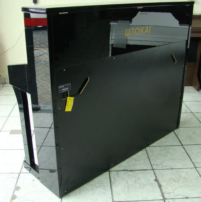 Piano Digital Tokai TP-188V Preto Alto Brilho  - Teclasom Instrumentos Musicais Ltda
