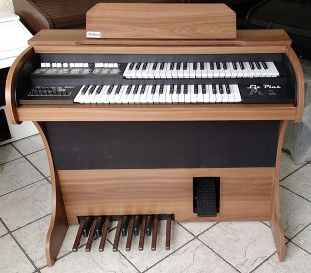 Órgão Eletrônico Rohnes Liz Ypê Madeirado