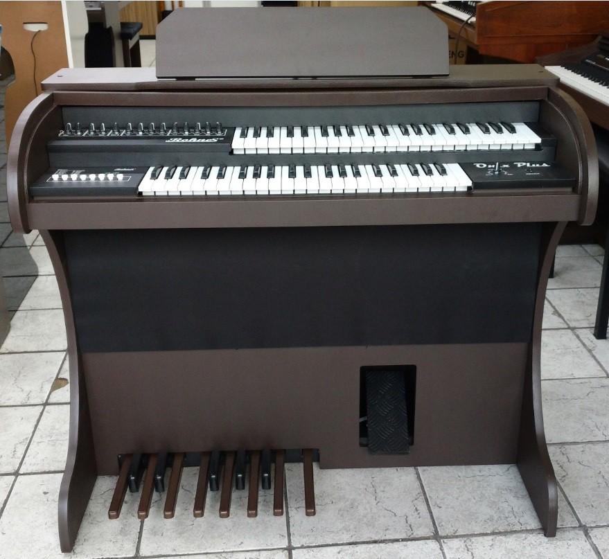 Órgão Eletrônico Rohnes Onix Plus Marrom