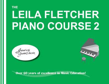 Método para piano: The Leila Fletcher Piano Course 2  - Teclasom Instrumentos Musicais Ltda