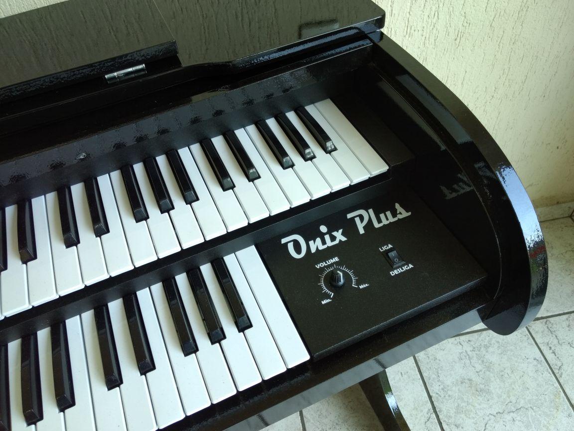 Órgão Eletrônico Rohnes Onix Plus Preto