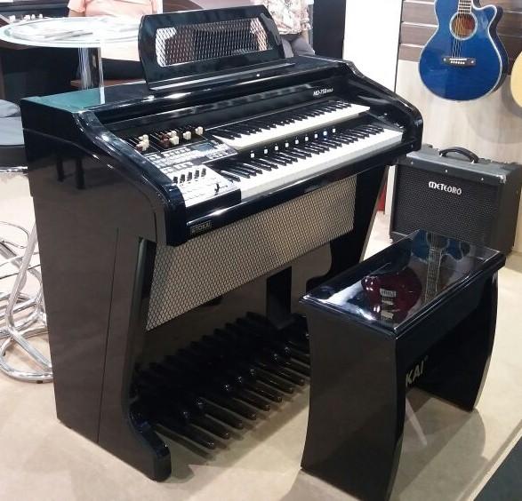 Órgão Eletrônico Tokai MD 750 GOLD Preto Alto Brilho. Conheça!
