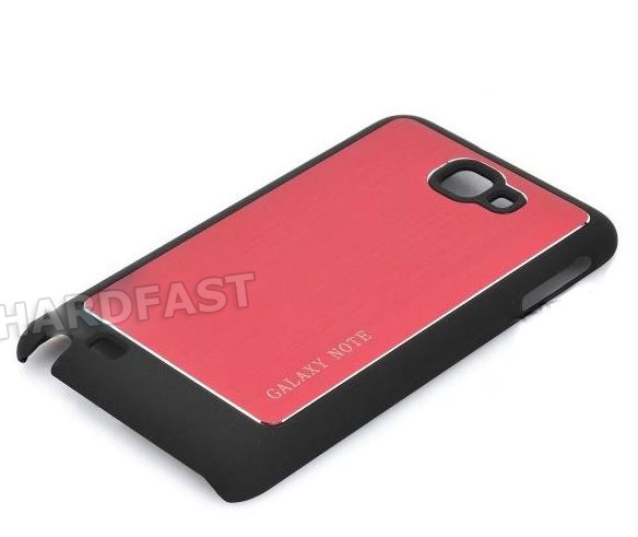 Capa Galaxy Note Luxo i9220 i9228 i889 N7000 Aluminum Back  - HARDFAST INFORMÁTICA
