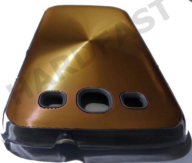 Capa Galaxy S3 I9300 Ouro Dourada Gold Edition Aluminum  - HARDFAST INFORMÁTICA
