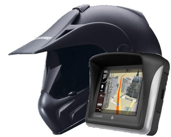 Gps Para Moto A Prova De Água C/ Fone Bluetooth Bike 128Mb g360m cool thing  - HARDFAST INFORMÁTICA