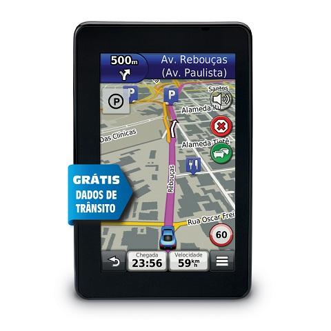 Gps Garmin Nuvi 3560lt Transito Brasil 3d Bluetooth Tela 5 Processador 900 Mhz dual Core  - HARDFAST INFORMÁTICA