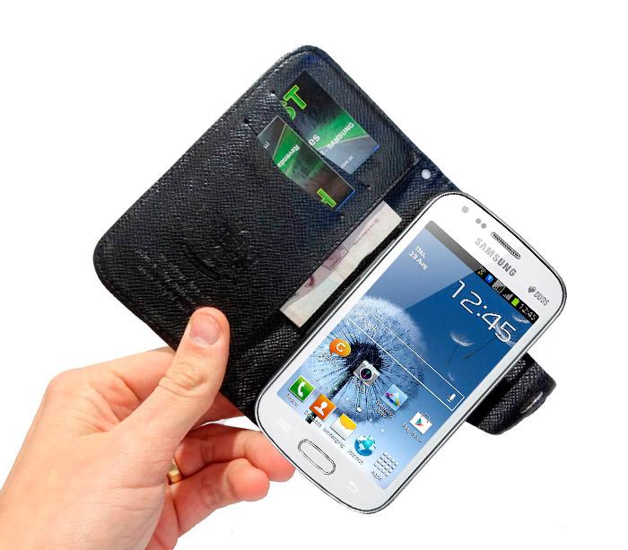 Capa Carteira Galaxy Grand Duos I9082 i9080 Samsung  Luxo  - HARDFAST INFORMÁTICA