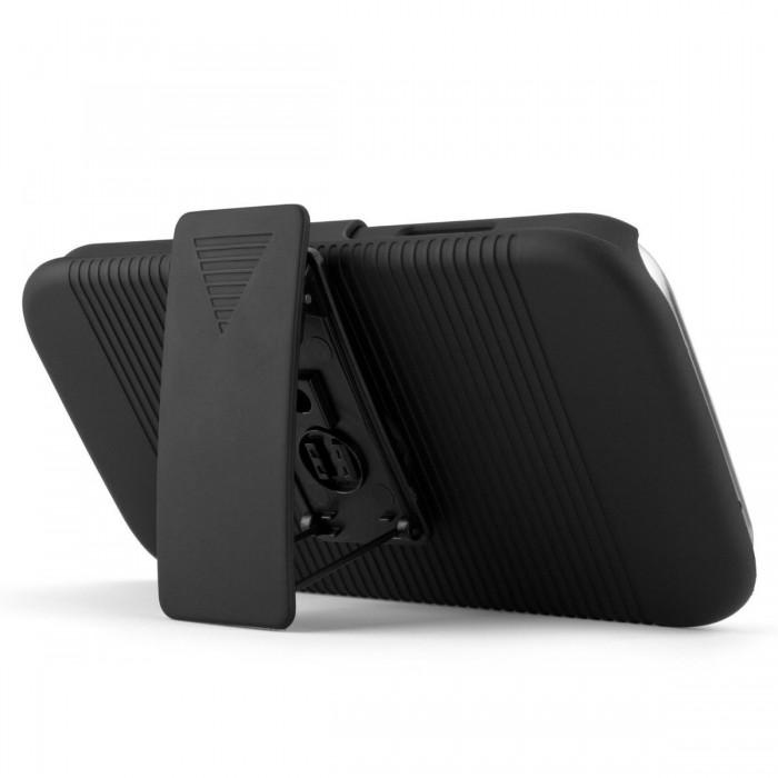 Capa Samsung S4 i9500 Cinto Clip Belt Suporte Mesa Galaxy BR  - HARDFAST INFORMÁTICA