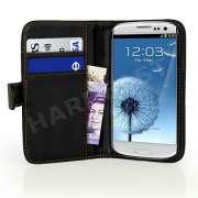Capa Carteira Galaxy S3 i9300 Couro Pu Samsung Black Clip BR