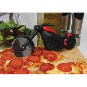 Cortador Pizza Moto Chopper motorcycle Inox Design e estilo