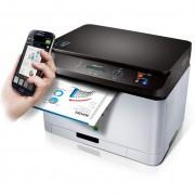 Impressora Laser Colorida Multifuncional Samsung Wifi NF-e SL-C460W