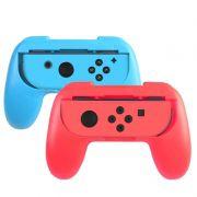 Adaptador Controle Nintendo Swtich Capa Grip Suporte Mario