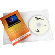 Microsoft Windows 7 Professional Genuino Nf-e Midia Serial 64 bits Seven