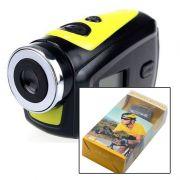 Mini Camera Sport Cam Hd 720p Bike Moto Capacete Prova Agua T182 Video Foto Audio