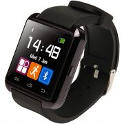 Relogio Bluetooth u8+ Plus Smartwatch Touch Screen Sem fio Inteligente Ligação Viva Voz Preto