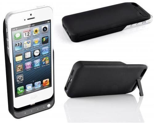 Capa Case Bateria Externa Iphone 5 Super Fina Slim Extra Bur  - HARDFAST INFORMÁTICA