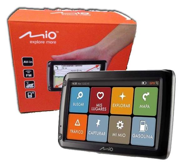 Gps Mio S665 Tela 5 Bluetooth Pacote full Brinde 4gb Igo 8 desbloqueado  - HARDFAST INFORMÁTICA